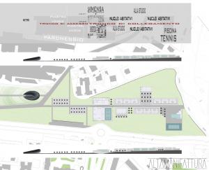 Ipotesi di progetto per la Casa dello studente, Napoli