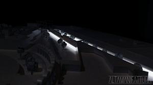 Plastico architettonico del Progetto di ampliamento della Mostra D'Oltremare