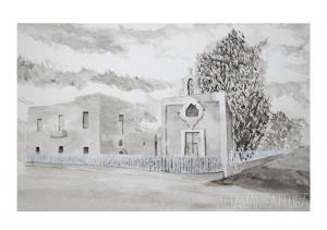 Schizzo dello stato dell'arte Cappella Spinelli, Scafati