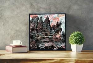 Ponte.Omaggio a Monet.